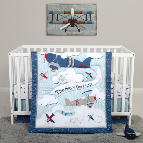 Sammy & Lou Adventure Awaits Crib Bedding Set Perspective: front