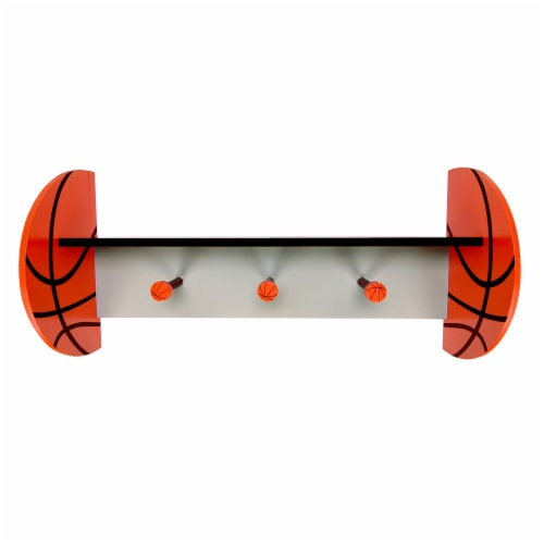 Trend Lab Basketball Wall Shelf Perspective: front