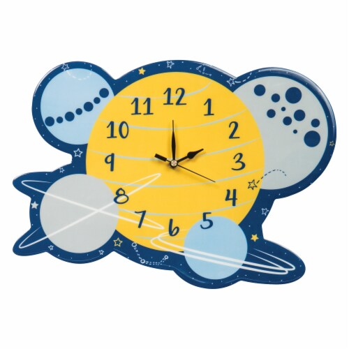 Trend Lab Galaxy Wall Clock Perspective: front