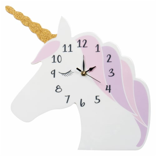 Trend Lab Unicorn Wall Clock Perspective: front