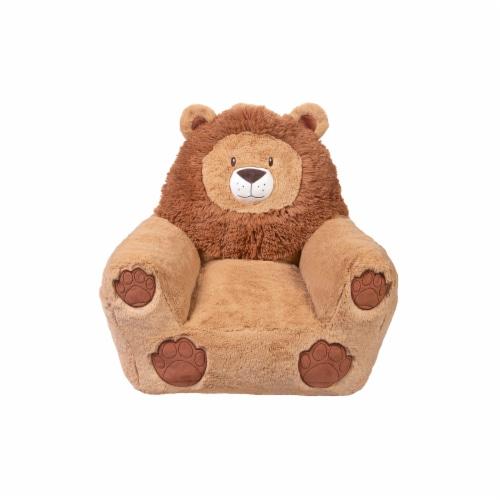 Cuddo Buddies Lion Plush Chair Perspective: front