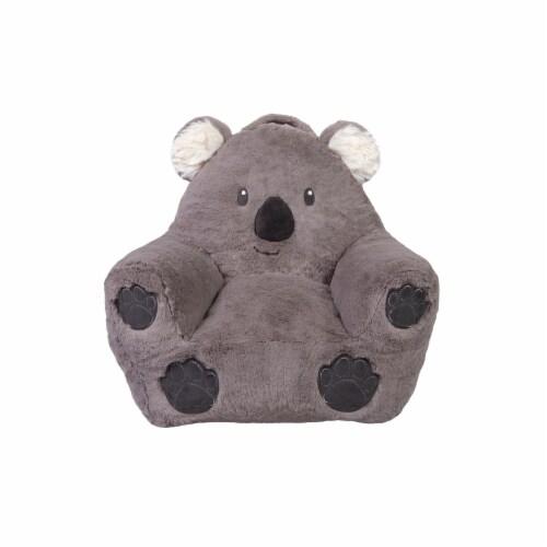Cuddo Buddies Gray Koala Plush Chair Perspective: front