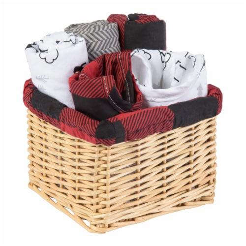 Trend Lab Lumberjack Moose Gift Basket Perspective: front
