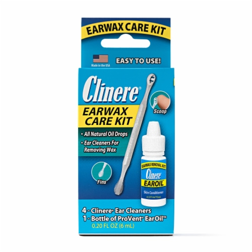 Clinere Earwax Care Kit Perspective: front