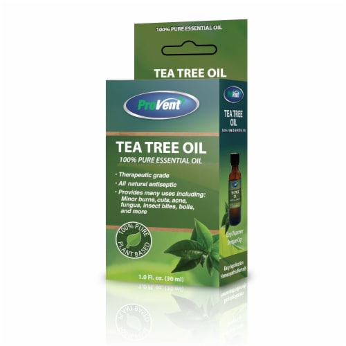 Provent Tea Tree Oil Perspective: front