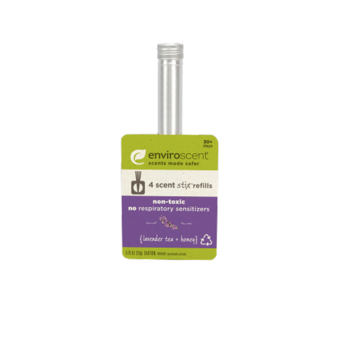 Enviroscent Home Scent Stix Lavender Tea + Honey Refills Perspective: front