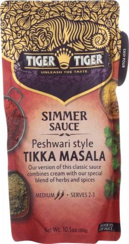 Tiger Tiger Medium Peshwari Style Tikki Masala Simmer Sauce Perspective: front
