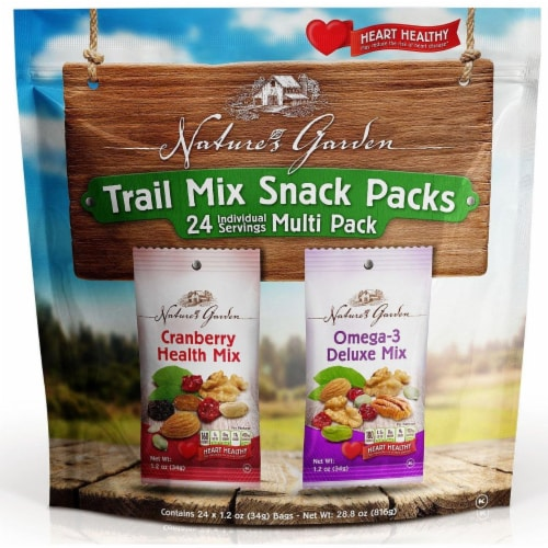 Nature's Garden Trail Mix Snack Packs Perspective: front