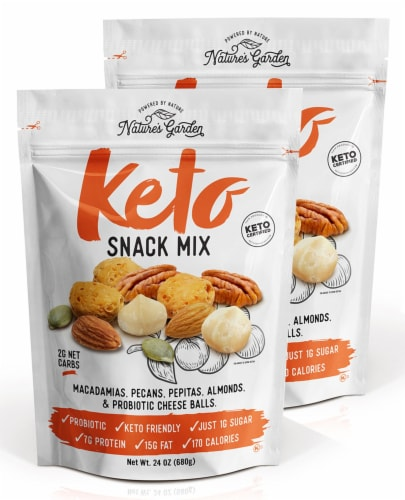 Nature's Garden Keto Snack Mix Perspective: front