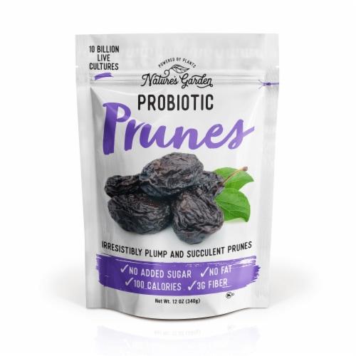 Nature's Garden Probiotic Prunes 12 oz Perspective: front