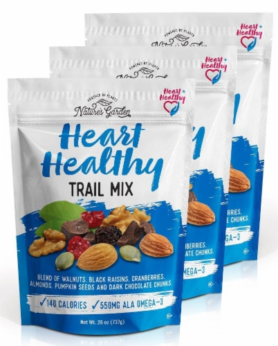 Nature's Garden Heart Healthy Trail Mix Perspective: front