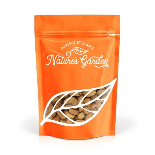 Nature's Garden Roasted Unsalted Cashews 16 oz Perspective: front