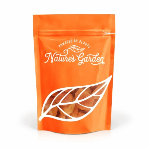 Nature's Garden Dried Turkish Apricots 16oz Perspective: front