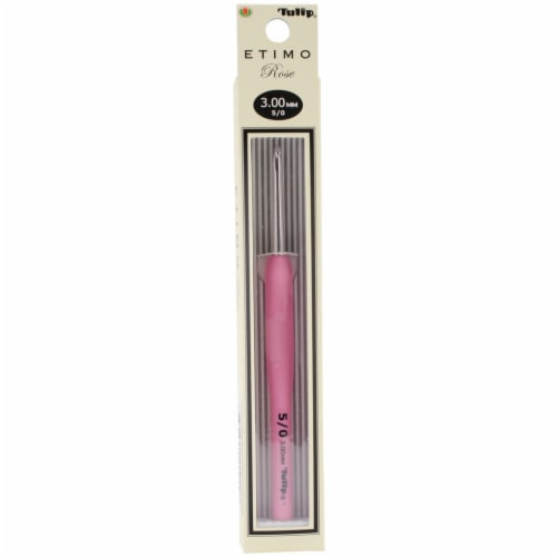 Tulip Etimo Rose Crochet Hook-Size 5/3mm Perspective: front