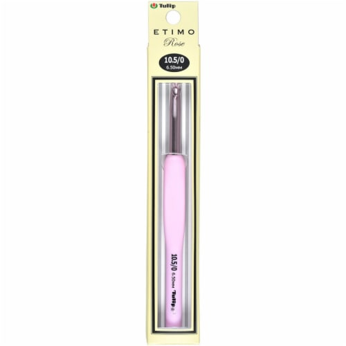 Tulip Etimo Rose Crochet Hook-Size 10.5/6.5mm Perspective: front