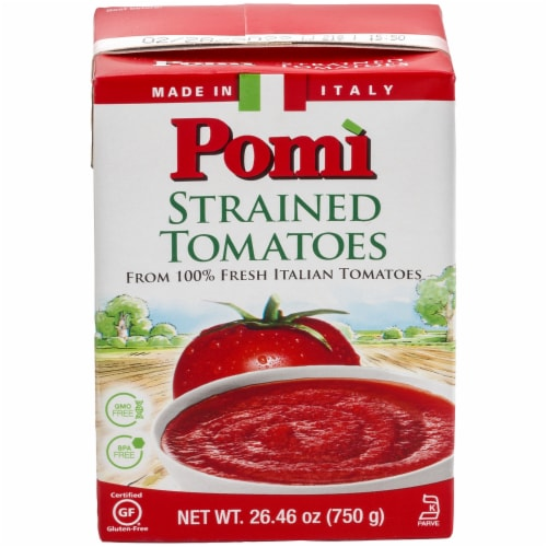 Pomi Strained Tomatoes Perspective: front