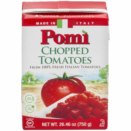 Pomi Chopped Tomatoes Perspective: front