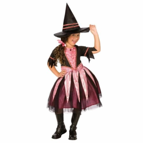 Costumes For All Occasions LF3321FUMD Sparkle Witch Child Medium Perspective: front