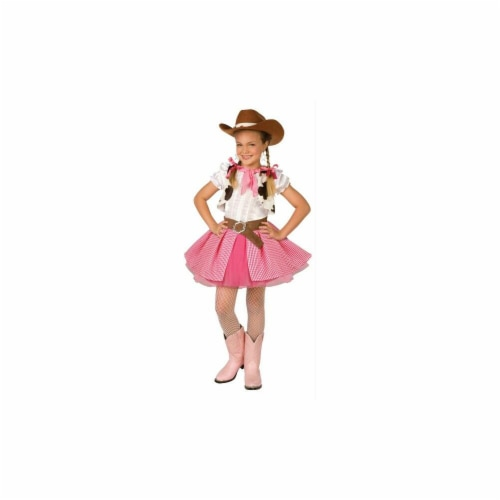 Costumes For All Occasions LF4008PKMD Cowgirl Cutie Child Med 8-10 Perspective: front