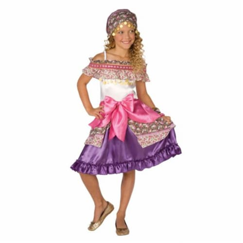 Costumes For All Occasions LF4029SM Gypsy Child Small 4-6 Perspective: front