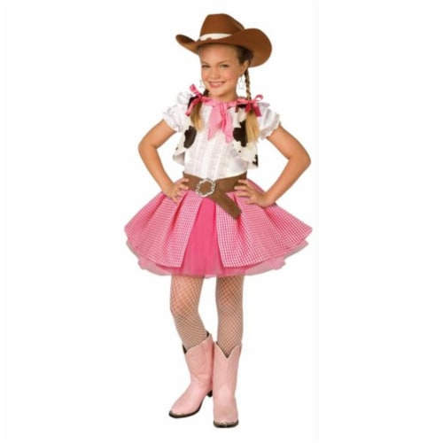 Costumes For All Occasions LF4008PKLG Cowgirl Cutie Child Lrge 12-14 Perspective: front