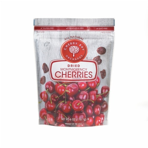 Cherry Bay Orchards® Dried Montmorency Cherries Perspective: front