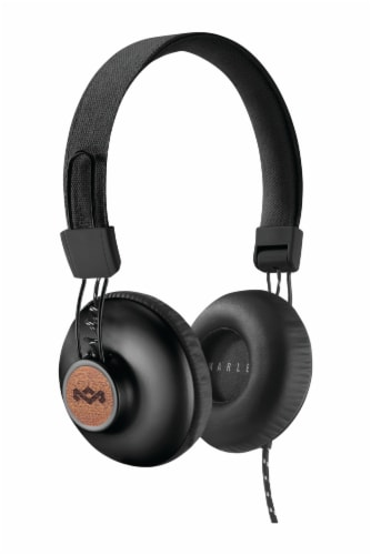 House of Marley Positive Vibration 2 Wired Headphones - Signature Black Perspective: front