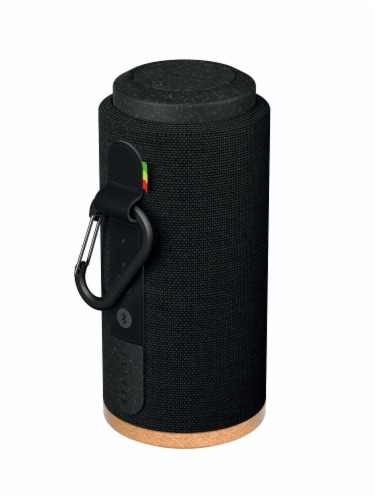 House of Marley No Bounds Sport Wireless Speaker - Black/Cork Perspective: front
