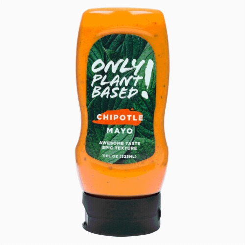 Only Plant Based Vegan Chipotle Mayonnaise, Squeeze Bottle, 11 Fl Oz Perspective: front