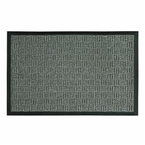 Sports Licensing Solutions 262374 24 x 36 in. Parquet Mat, Gray Perspective: front