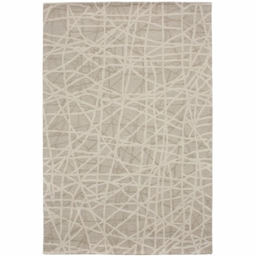 Due Process Stable Trading WMA Gerard Bisque Area Rug, 4 x 6 ft. Perspective: front