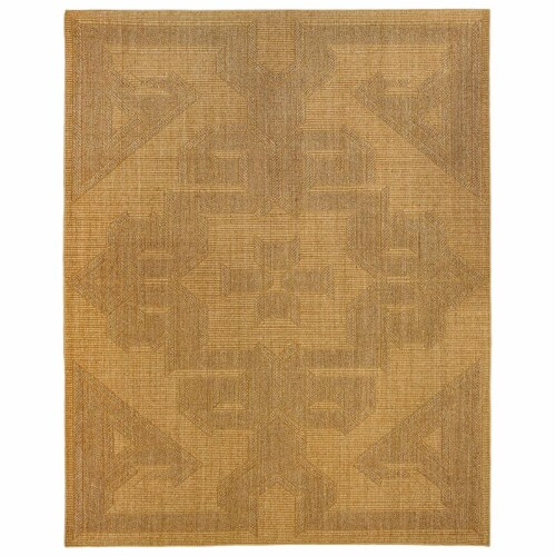 Due Process Stable Trading Sisal de Tapis Braxton Barley Area Rug, 12 x 15 ft. Perspective: front