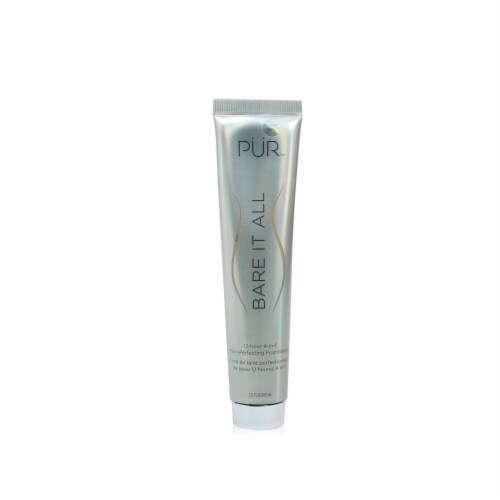 PUR (PurMinerals) Bare It All 12 Hour 4 in 1 Skin Perfecting Foundation  # Medium Dark 45ml Perspective: front
