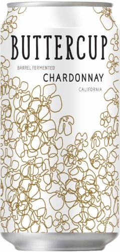 Buttercup Chardonnay Can Perspective: front