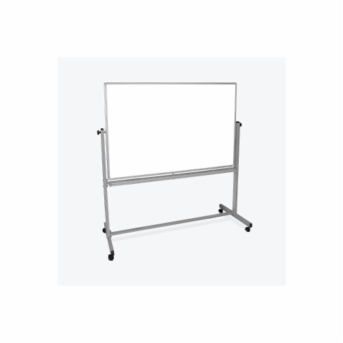 Luxor Furniture MB6040WW 60x40 Mobile Whiteboard Perspective: front