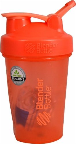 BlenderBottle  Classic™ 20 oz. with Loop Coral Perspective: front