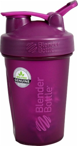 BlenderBottle  Classic™ 20 oz. with Loop Plum Perspective: front