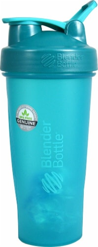 BlenderBottle  Classic 28 oz. with Loop Teal Perspective: front