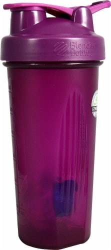 BlenderBottle  Classic 28 oz. with Loop Plum Perspective: front