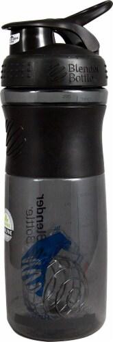 BlenderBottle  SportsMixer™ Tritan Grip 28 oz. Black Perspective: front