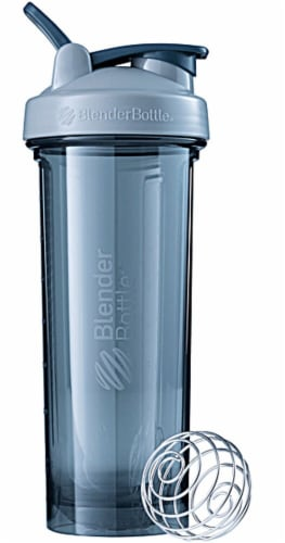 BlenderBottle  Pro32 Emerald Grey Perspective: front
