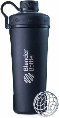 BlenderBottle® Radian Stainless Steel Bottle - Black Perspective: front