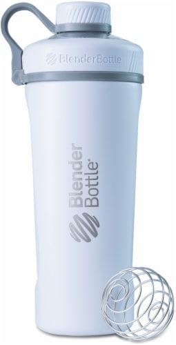 BlenderBottle® Radian Stainless Steel Bottle - Light Blue Perspective: front