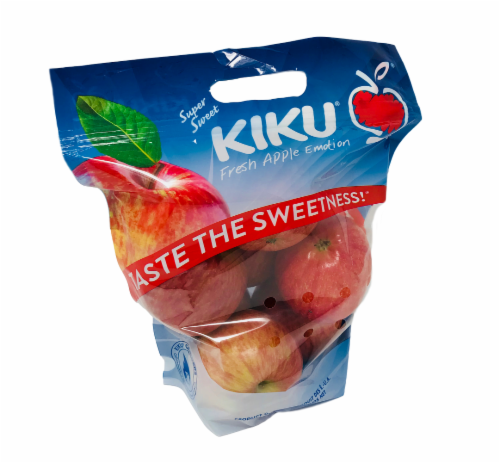 Kiku Apples Pouch Bag Perspective: front
