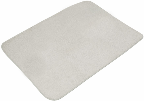 Honey Can Do Dish Drying Mat - Gray Perspective: front