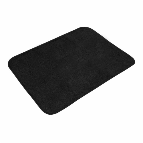 Honey Can Do Dish Drying Mat - Black Perspective: front