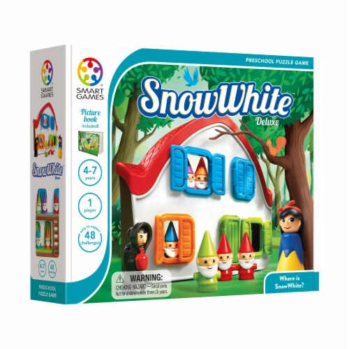 SmartGames SnowWhite Deluxe Game Perspective: front