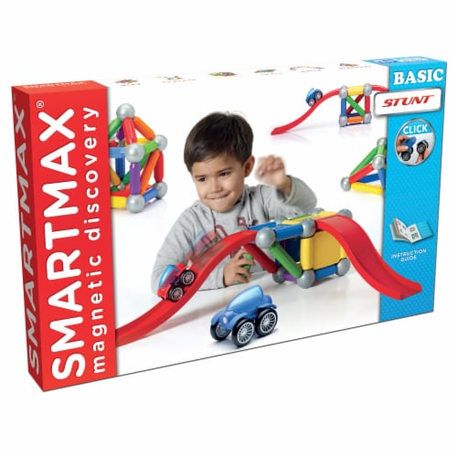 SmartMax Magnetic Discovery Basic Stunt Set Perspective: front