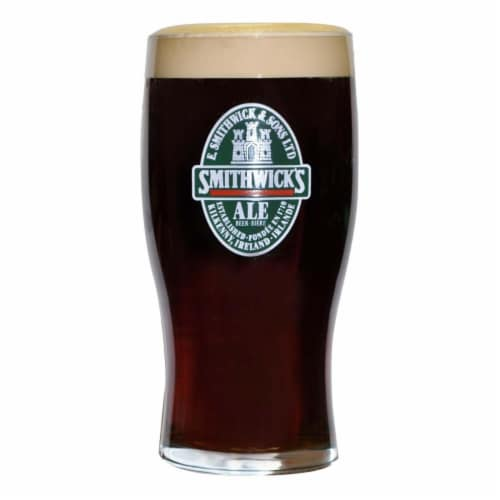 Smithwicks Smithwicks 20 oz Beer Drinking Pint Glass Perspective: front