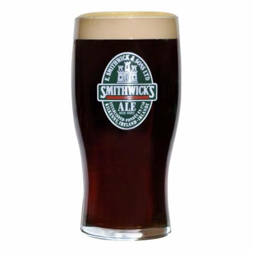 Smithwicks Smithwicks 20 oz Beer Drinking Pint Glass Perspective: front